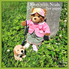 Sissy is smiling with Noah (her Bloodhound male puppy). (martian cat) Tags: ribbet macro teddybearsinjapan© ©martiancatinjapan ©teddybearsinjapan allrightsreserved© teddybearsinjapan teddybearsinjapan☺ ☺teddybearsinjapan ©allrightsreserved martiancatinjapan© teddybear teddybears collectibles hobbies ☺dogsandpuppiesinjapan ©dogsandpuppiesinjapan dogsandpuppiesinjapan© dogsandpuppiesinjapan ©puppydogsinjapan puppydogsinjapan© puppydogsinjapan ☺allrightsreserved allrightsreserved motivationalposter motivational caption captioncollection ☺martiancatinjapan martiancat martiancat© ©martiancat martiancatinjapan creativity
