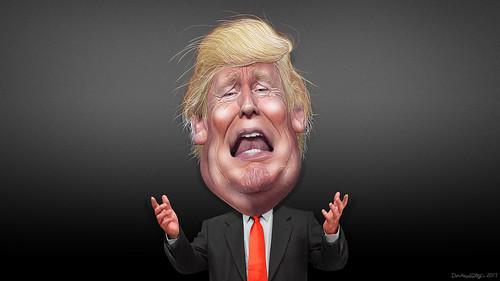 Donald Trump - Caricature, From FlickrPhotos
