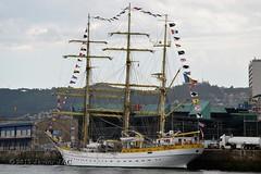 El Velero Rumano Mircea es un velero del tipo barca de tres mástile  (2) (javier_cx9aaw) Tags: elero rumano mircea