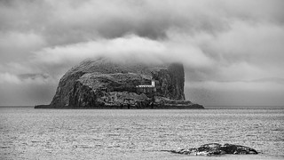 Low Cloud Over Bass Rock