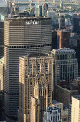 MetLife Building/Empire State Building (theilheimer) Tags: newyork empirestatebuilding observationdeck metlifebuilding manhattan usa state