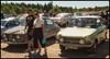 Saab 96 and Daf 55... Both rare... (iEagle2) Tags: saab saab96 daf daf55 dalsland dalsed ed olympusep2 olympuspen ep2 car
