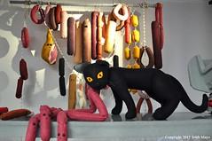 Bodega Cat (Trish Mayo) Tags: cat bodega bodegacat notrealanimals felt
