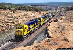Deep in Santa Fe's Crookton Cutoff (jamesbelmont) Tags: locomotive arizona crooktoncutoff eaglenext santafe atsf c307 seligmansubdivision
