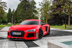 ABT R8 V10 Plus 2015 (Nico K. Photography) Tags: audi abt r8 v10 plus 2015 matte red rare supercars photoshooting nicokphotography switzerland badragaz