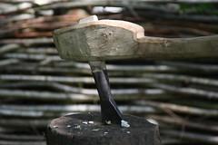 Replica iron axe, by Ben Glanville