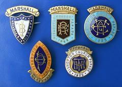 Bishopton Church Parade - Marshall badges (1921 - 1925) (RETRO STU) Tags: bishoptonchurchparade renfrewshire scotland bishoptondayparade bishoptonparishchurch churchofscotland presbyterianchurch marshallbadges enamelbadge