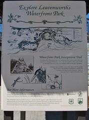 Leavenworth, Washington (Jasperdo) Tags: leavenworth washington roadtrip smalltown touristtown bavarianvillage exhibit sign
