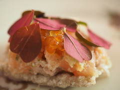 detail: Trout Tartare, smoked cheese coriander (YSL807) Tags: bror copenhagen cph useitall