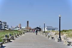 Ocean Grove NJ (Beautification Syndrome) Tags: ocean oceangrovenj boardwalk vacation solace sky sea beach