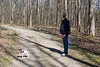 Kevin and Dooley, Perambulating (marylea) Tags: apr22 2017 hudsonmillsmetropark hudsonmills walk kevin dooley spring springtime