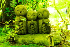 Smiley Jizo Collection of Hase Knnon : 良縁地蔵(長谷観音) (Dakiny) Tags: 2017 spring may japan kanagawa kamakura hase city street outdoor landscape temple hasekannon hasetemple stone statue smaile bokeh d7000 sigma 1770mm f284 dc os hsm sigma1770mmf284dcmacrooshsm nikonclubit