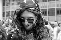 Smile (misterblue66) Tags: bruxelles brussels pride tamron 2470 f28 d610 nikonpassion nikon smile sourire regard bn bw noiretblanc nb geets benoitgeets misterblue blackwhite