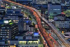 Higashi Osaka City Office, Japan (mikemikecat) Tags: higashi osaka city office 東大阪市役所 22階展望ロビー 大阪 observation deck cosmo tower rooftop sony a7r twilight nightscape nightview night 夜景 mikemikecat house stacked structures street scenery sonya7r building 天空 建築物 城市 建築 cityscapes carlzeiss colorful 空中 sel70200g fe70200mf4goss