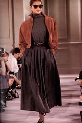 Ralph Lauren Fall/Winter 1986-87 (barbiescanner) Tags: ralphlauren retro fashion vintagefashion readytowear pretaporter runway retrorunway 80s 80sfashion gailoneill