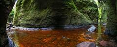 Anton At The Devil's Pulpit (john&mairi) Tags: skyebaggie anton devils pulpit gorge scotland photographer