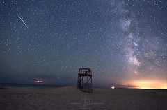 Eastern Shores of Maryland (Jeff Berkes Photography) Tags: space milkyway night sky light pollution stand storm sand ocean nightscape usa maryland assateague island national seashore md 2017 june