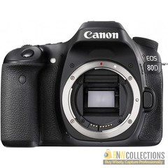 Buy Canon EOS 80D DSLR Camera (Body Only) At Rs.103,000 Features :- 24.2MP APS-C CMOS Sensor, 3.0