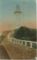 The lighthouse, Byron Bay c1910 (RTRL) Tags: byronbay postcard lighthouse capebyron