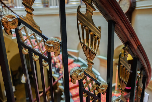 Culzean Castle staircase, designed by Robert Adams