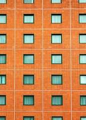 150/365: Patterns in Architecture (Den's Lens 2000) Tags: 2017 365 windows wall hotel woking pattern abstract lines squares geometric
