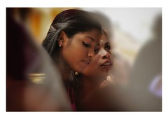 wonder (handheld-films) Tags: faces india portrait portraiture women girls warm warmth friendship together togetherness meditation contemplation closeness light people indian subcontinent kerala quiet serene serenity tranquility calm beauty beautiful