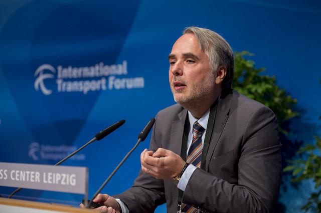 François Davenne presenting about good governance