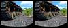 Tank Wheels 1 - Parallel 3D (DarkOnus) Tags: pennsylvania buckscounty panasonic lumix dmcfz35 3d stereogram stereography stereo darkonus closeup macro tank wheels kv1 russian wwii world war ii kliment voroshilov parallel
