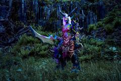 Demon Hunter (azproduction) Tags: anime cosplay game girl wow worldofwarcraft warcraft blizzard demonhunter elf nightelf phottix