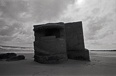 Pill Box, Fraisthorpe Beach. (christopherhogg1) Tags: chrishoggsphotos pillbox sea coast beach sands fraisthorpe concrete defences worldwartwo