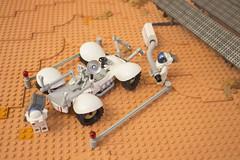 Arsia Prime | 5 (eldeeem) Tags: lego mars colony settlement greenhouse vegan rover flesh nougat exploration science scifi