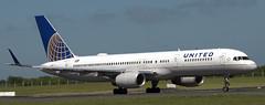 Boeing 757-224 N33103 (707-348C) Tags: dublinairport dub eidw airliner jetliner boeing boeing757 united ual unitedairlines passenger collinstown dublin b752 n33103