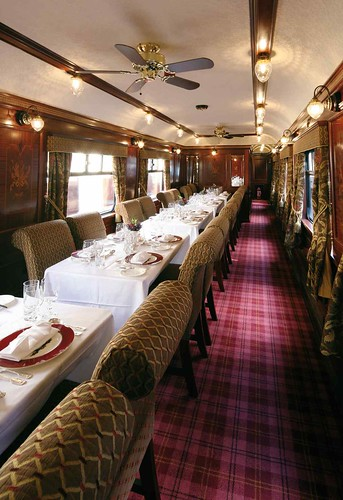 Belmond Royal Scotsman - Spa Car