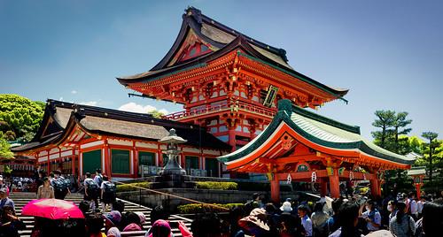 fushimiinaritaisha japan kyoto eos650d efs24mm shrine inari fushimi fushimiku buddhist touristy placeofworship religious imperial