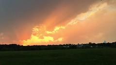 Sunset & Lightning (Tim Loesch) Tags: slomo mercercounty newjersey nj sky clouds lightning sunset