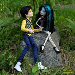 №456 (OylOul) Tags: 16 monster high doll skelita