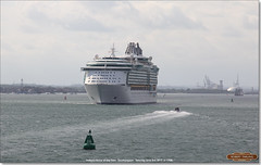Independence of the Seas leaving Southampton for Rome, June 3rd 2017 a (Bristol RE) Tags: independenceoftheseas royalcarribean southampton cruise cruiseliner imo 9349681