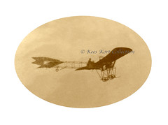 Detail of the DFG or Schultze-Herfort monoplane in flight [Germany, 1910] (Kees Kort Collection) Tags: 1910 dfg eindecker germany inflight schultzeherfort detail monoplane