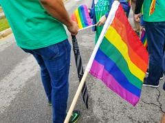 Pride parade in Buffalo, N.Y. Happy Pride Month!!!💗❤💛💚💙💜💑👨❤️👨👩❤️👩 (iamlewolf) Tags: pride parade lgbtq loveislove love colorful 2017 june buffalonewyork buffalo newyork ny buffalony