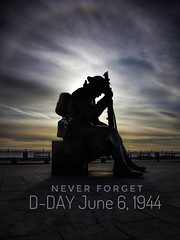 Never Forget ! (simon.mccabe.5) Tags: uk forget never poppy remember 6 1944 june sky solar landing d day seaham tommy peace war