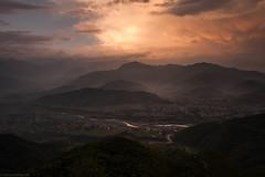 Nepal (christian.behrens) Tags: berge natur nepal orte gebirge sonnenaufgang himalaya sarangkot landschaft