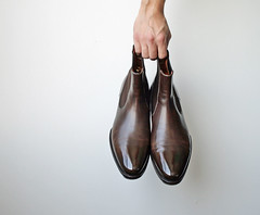 Santoni Chelsea Boot. #BurzanHands (avm_photo) Tags: santoni society chelsea boots