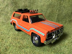 Playart Hong Kong - Chevy Blazer 4x4 - Miniature Die Cast Metal Scale Model Vehicle (firehouse.ie) Tags: suv 4x4 chevrolet chevy blazer coches coche cars car miniature miniatures metal models model trucks truck toys toy playart
