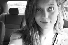 good morning (Rei_Marie) Tags: self portrait bw bnw canon rebel eyes