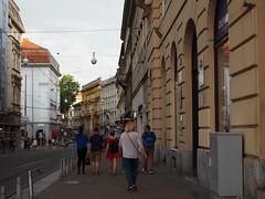 Praska street, from Ban Jelacic square to Zrinjevac