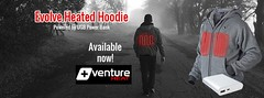 Venture Heat Outdoor Winter and Power Sports wearable Heated Clothing Apparel manufacturer of the famous USB Hoodie Sweater (Venture Heat) Tags: usbbatteryheatedjacket usbpoweredbatterywearableheatedhoodiesweater heatedjacket self heating hoodie sweater venture heat® heat wearable technology battery powered