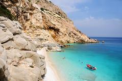 Seychelles beach, Ikaria / Greece (ANJCI ALL OVER) Tags: greece greekislands ikaria aegean ελλάδα ελληνικάνησιά ικαρία αιγαίο northaegean