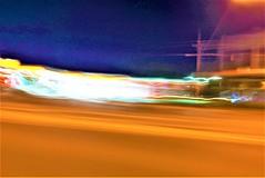 City Drive #30 (SJ Finn) Tags: sjfinn street movement motion night colour blur available light flickr flickriver