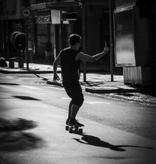 Selfie skate