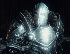 """""""The Hero"""" (L1netty) Tags: pc games gaming reshade screenshot deck13 lordsofthefallen people armor portrait knight light 4k color harkyn videogame man dof warrior character closeup"""
